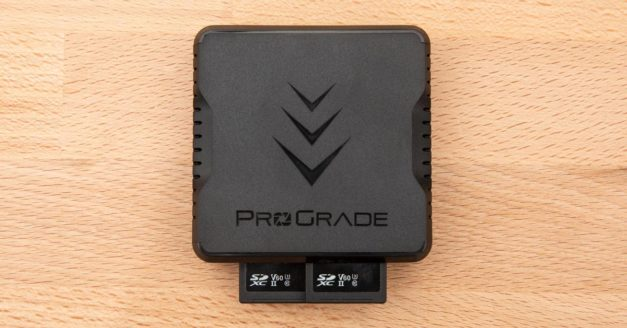 Review: ProGrade Digital Dual UHS-II SD Card Reader