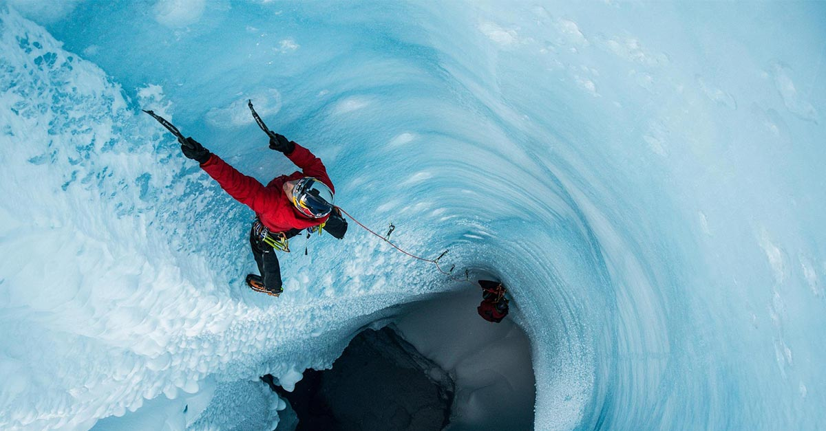 Ice Climbing Photography in the Greenland Ice Cap with Christian Pondella and Red Bull