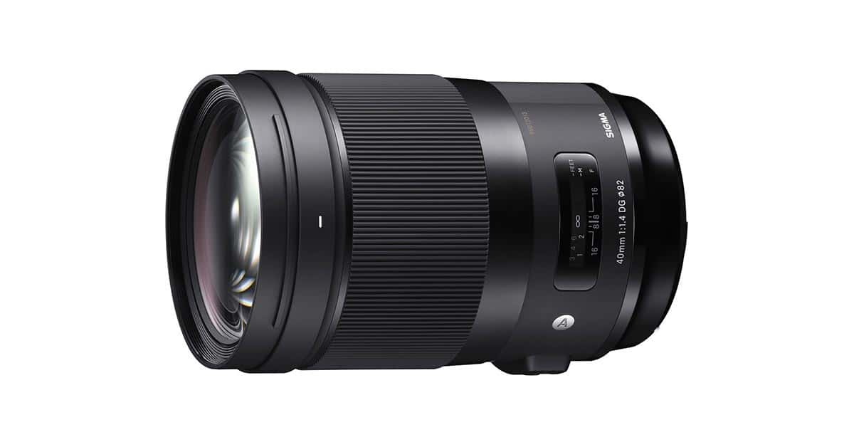 Today Only: Save $400 on the New Sigma 40mm f/1.4 ART