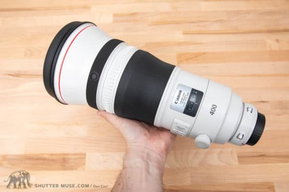 Canon 400mm f/2.8 L IS III Hands-On Photos