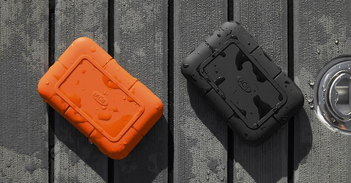 LaCie Introduces Several New Rugged SSDs for Creatives