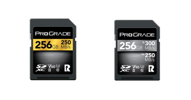ProGrade Digital Launches Faster V60 and V90 SDXC UHS-II Cards