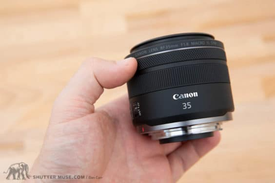 Canon RF 35mm f/1.8 IS Macro Hands-On Photos