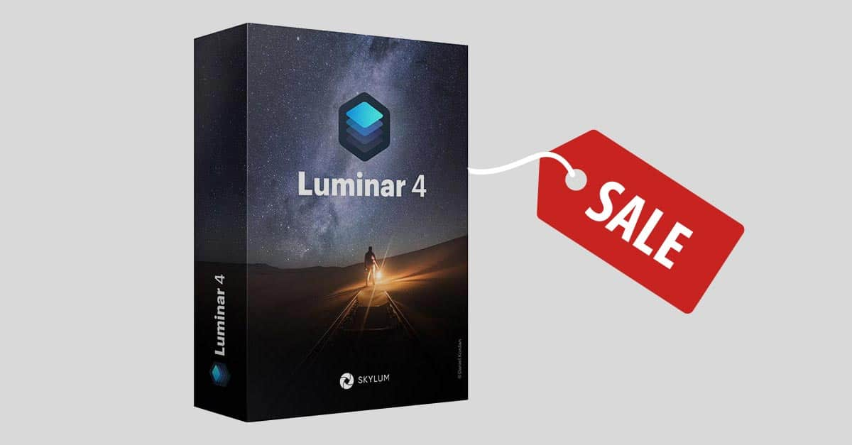 Luminar 4 Black Friday Sale
