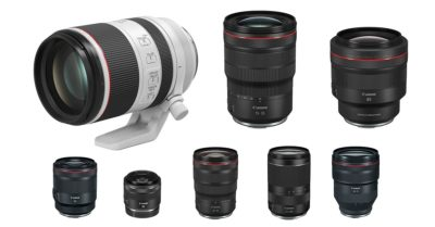 A Complete List of Canon RF Lenses and Their Specifications