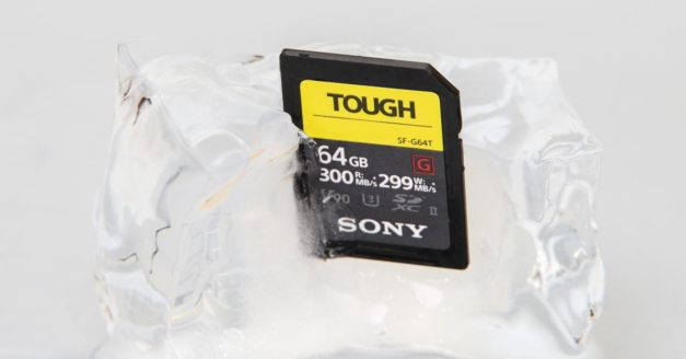 Review: I Froze This Sony Tough Series Memory Card to See If I Could Kill It