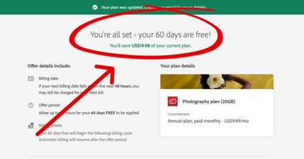 Adobe Is Giving Everyone 2 (Or Even 3) Free Months of Creative Cloud – Claim It Now