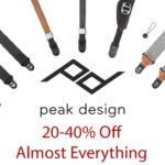 HUGE Peak Design Sale: 20-40% Off