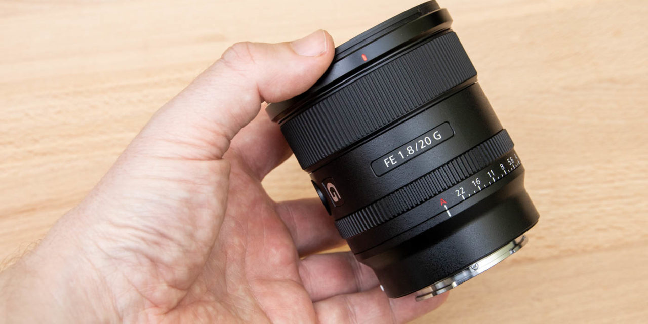 Sony FE 20mm f/1.8 G Hands-On Photos