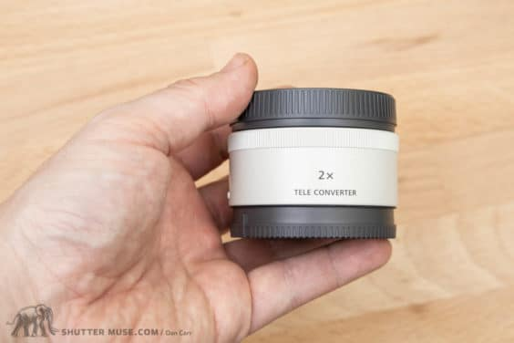 Sony FE 2.0x Teleconverter Hands-On Photos