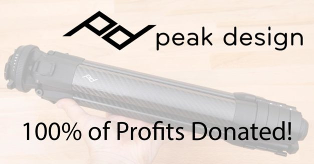 LIVE: Peak Design Donating Profits From Travel Tripod Sales to COVID-19 Relief
