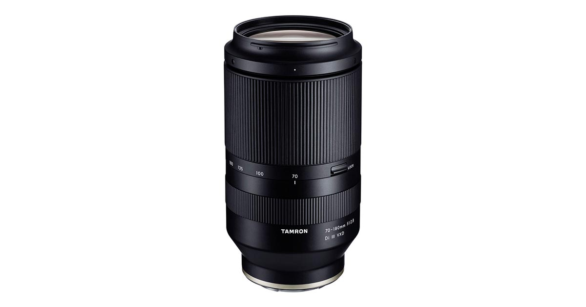 Tamron 70-180mm f/2.8 For Sony E-Mount Launched