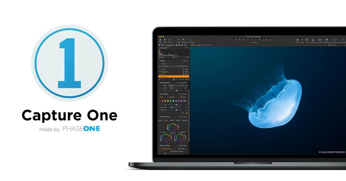 Today Only – Save 43% On Capture One Pro 20