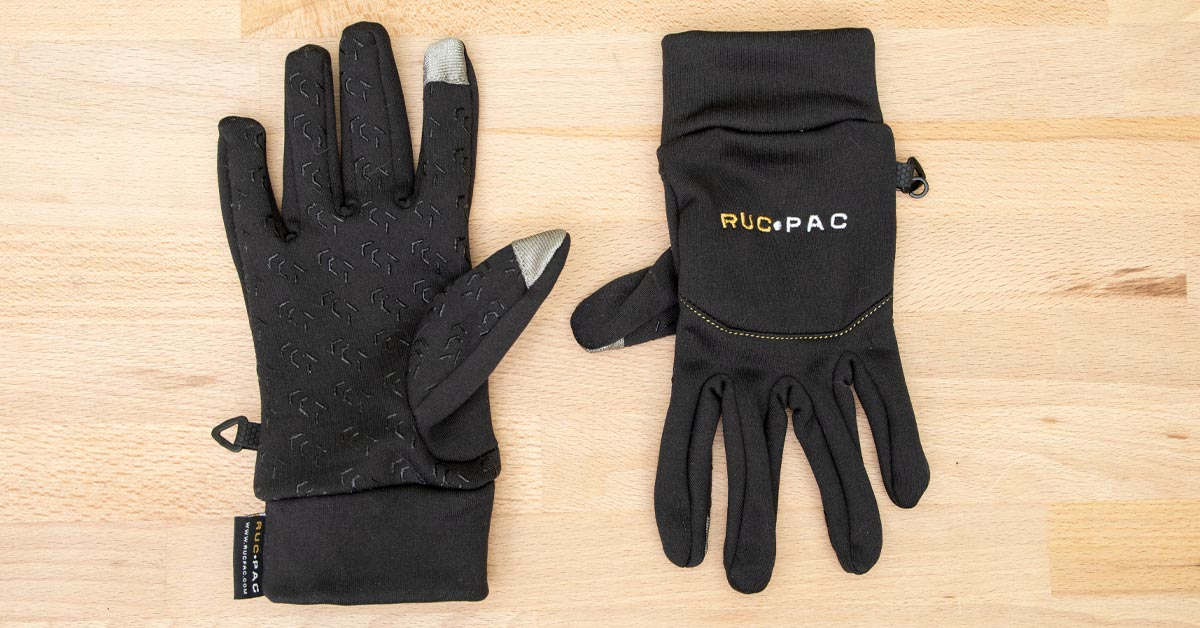 Review: RucPac Tech Photography Gloves