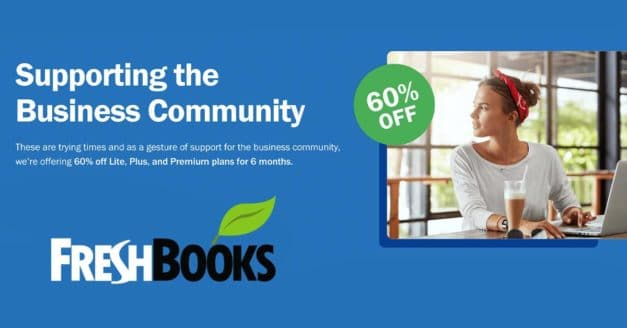 60% Discount On Freshbooks for Creatives