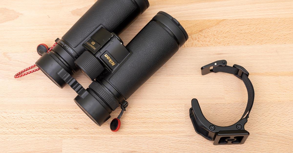 Really Right Stuff's Excellent Binocular Arca-Swiss Tripod Adapter: Cinch-LR BA Review