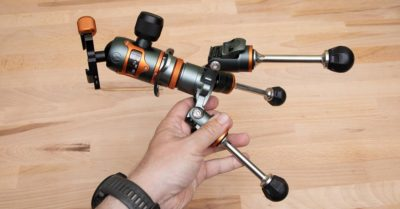 Quick Review: 3 Legged Thing Vanz Tabletop Tripod Conversion Kit