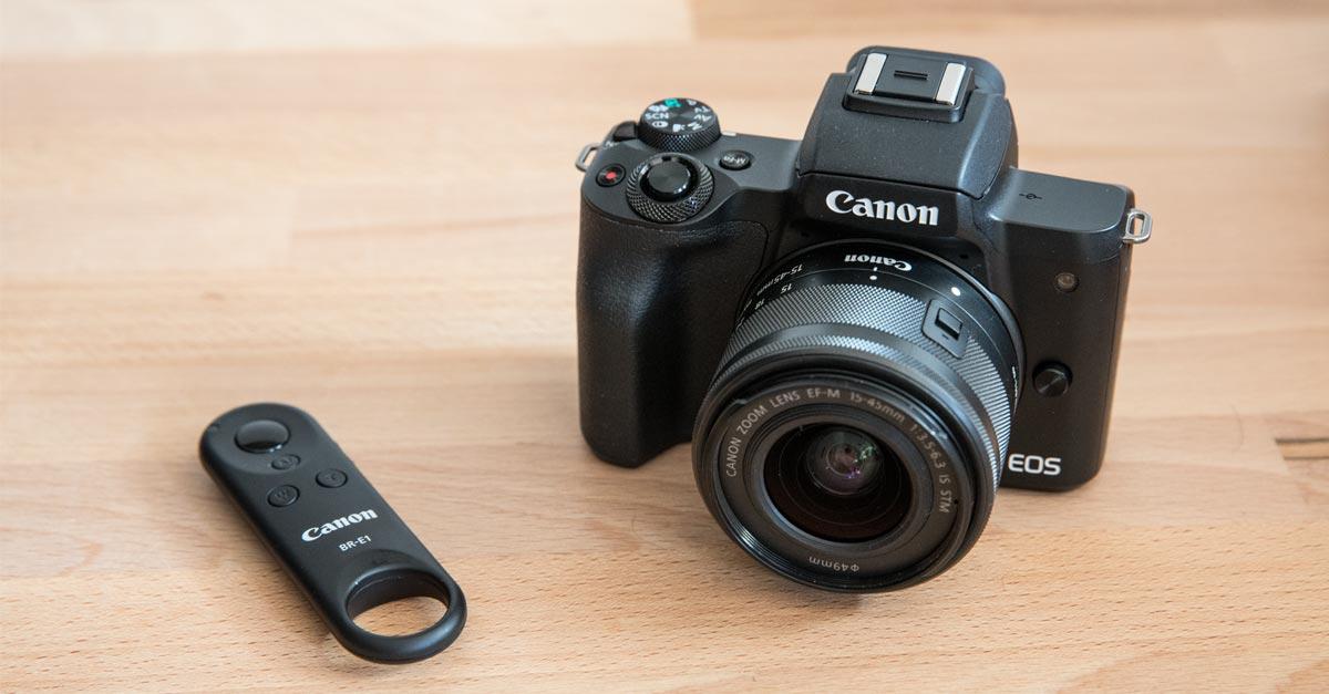 Canon EOS M50 and BR-E1 Bluetooth Remote – How?