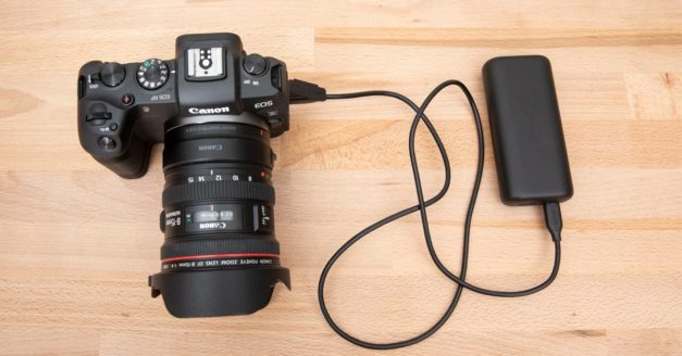Best USB Charger and Battery For the Canon EOS RP (& EOS R)
