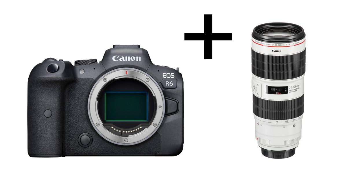 Can You Use EF Lenses On The Canon R5 and R6?