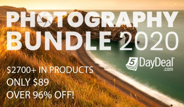FINAL HOURS – 5DayDeal Photography Bundle 2020 Is Live!