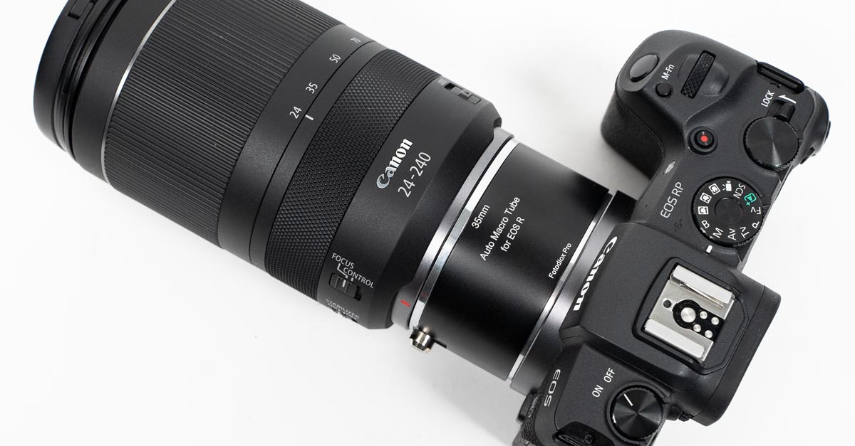 The Best Canon RF Extension Tubes Are from Fotodiox