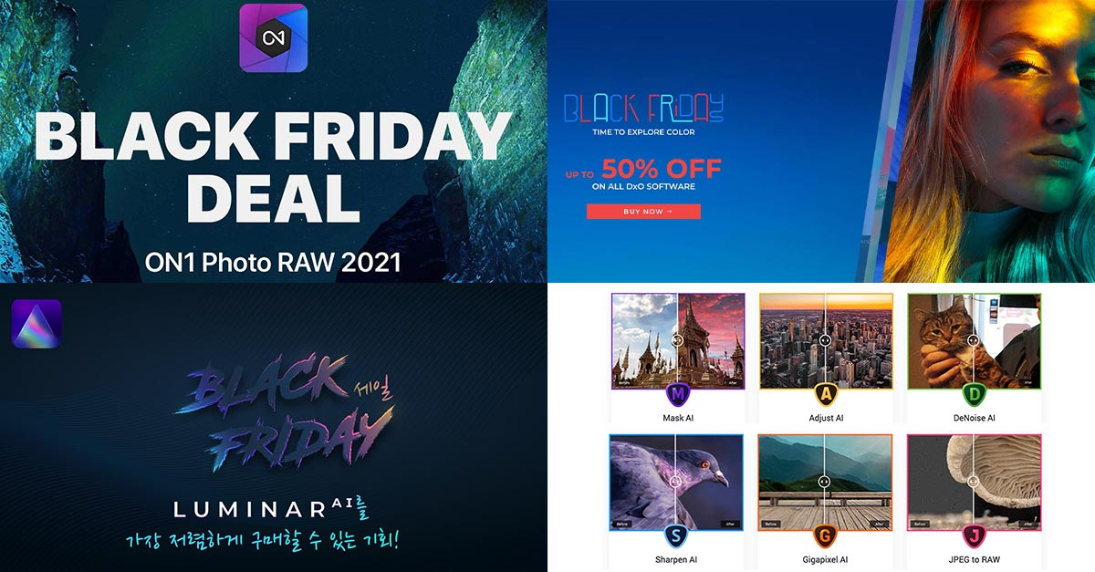 Black Friday Photo Editing Deals