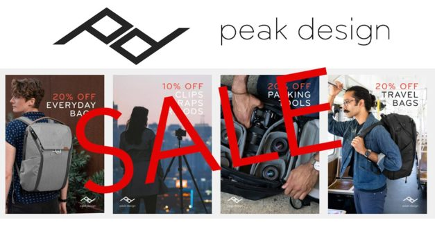 Peak Design Launches Their Biggest Ever Sale