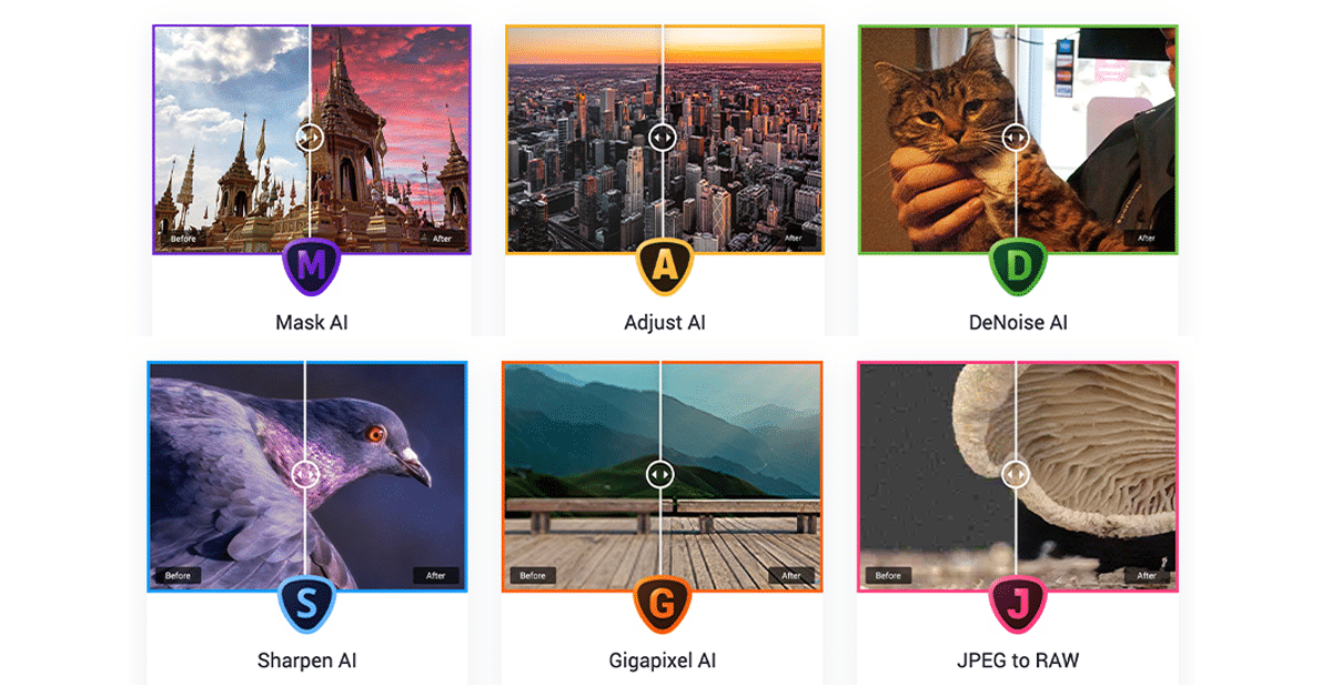Topaz Labs Holiday Sale – 45% Off Everything