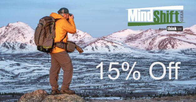 Save 15% On MindShift Gear