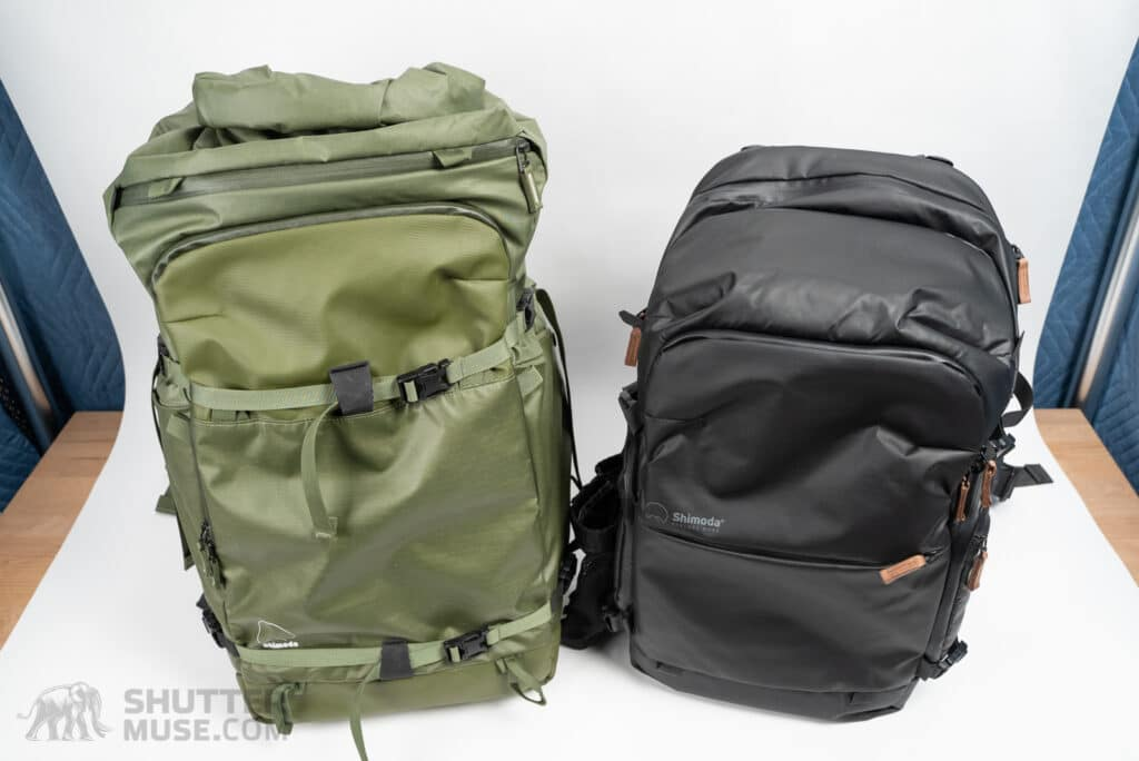 action x vs explore backpack