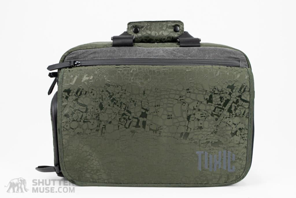 morally toxic wraith messenger bag